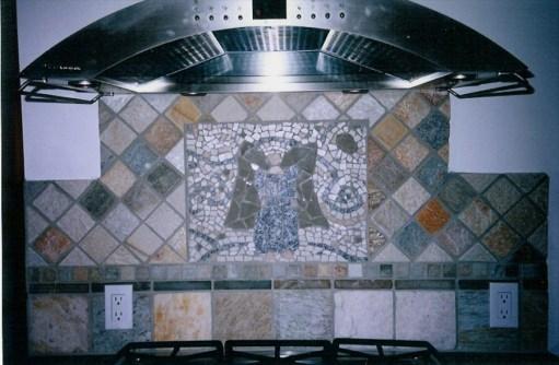 stove mosaic