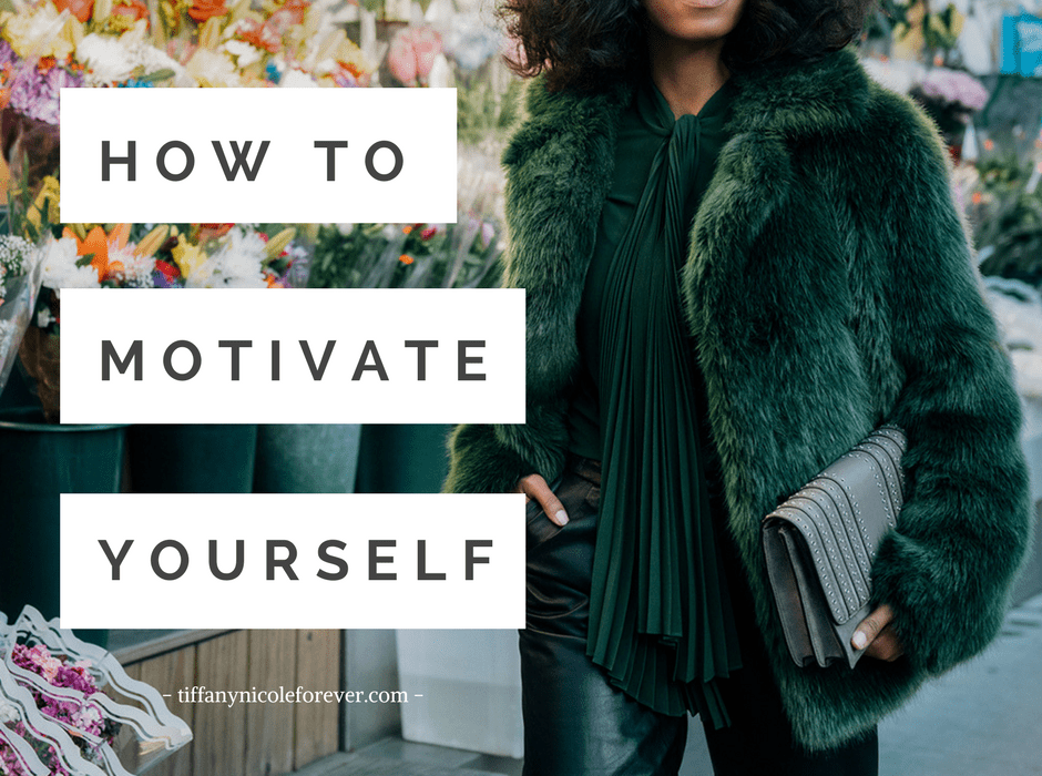 Motivate Yourself - and eliminate unhealthy dependencies on others for inspiration and motivation