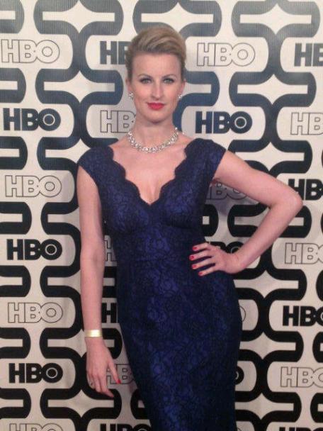 Tiffany at Golden Globes awards in LA