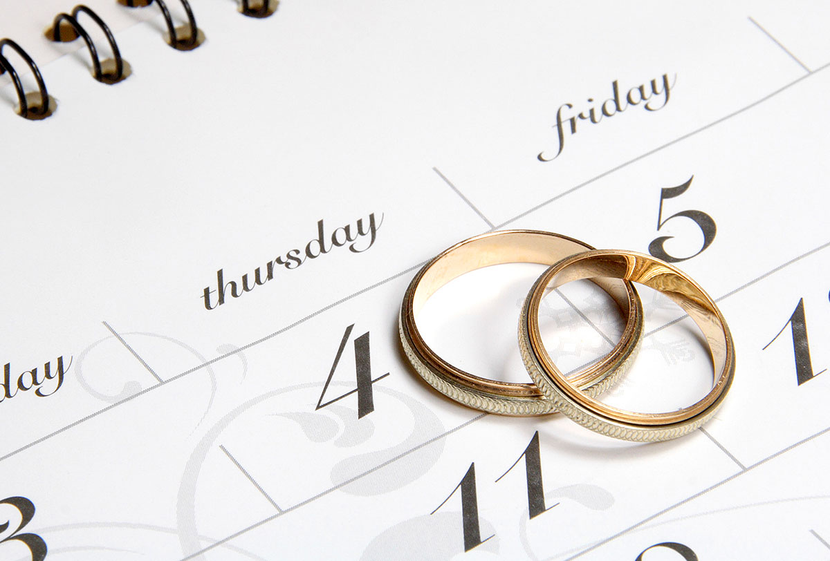 """Свадебное агентство """"Tiffany Wedding""""   выбор даты для свадьбы"""