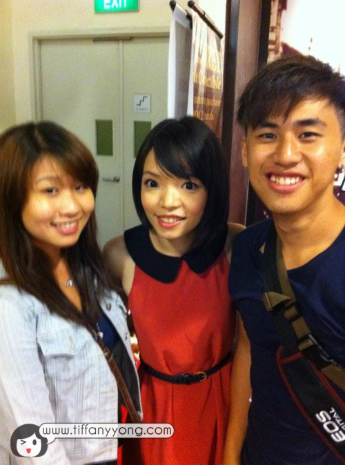 Photo with Walk and Roll Director Lun and Producer Rachel!