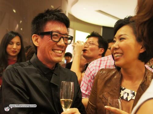 Irene Ang with Daniel Boey