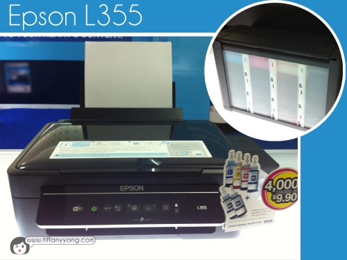 Here's one of the magical Epson L-series printer!