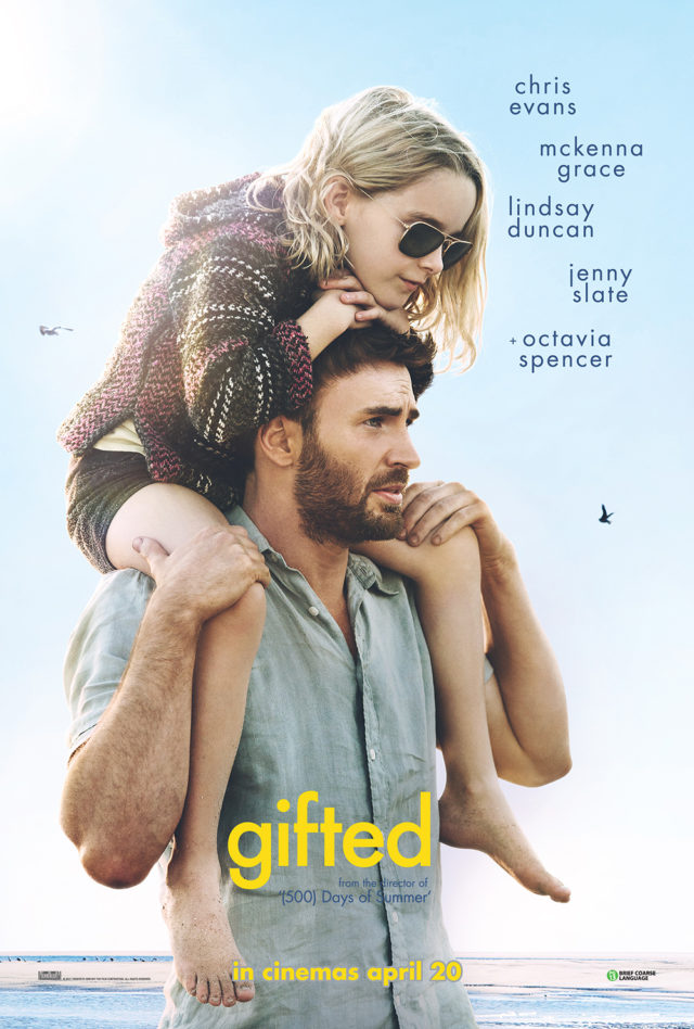 Gifted 2017 Movie Poster