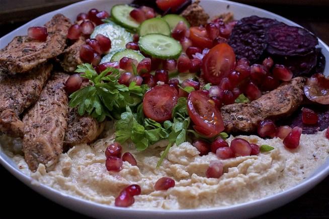 turkish chicken salad recipe - www.tiffinandteaofficial.com