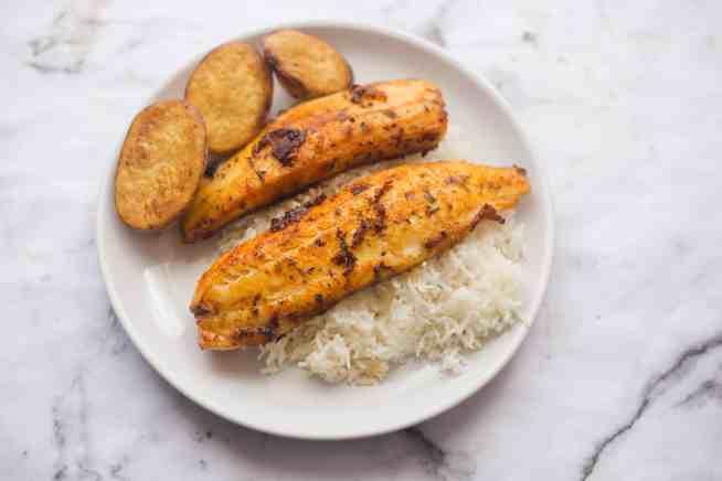 Pan Fried Cajun Fish