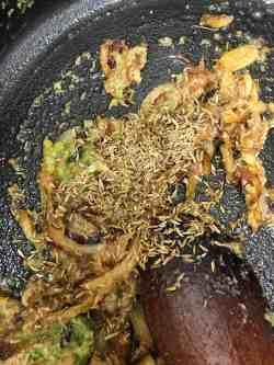 Cumin Seeds added to pot