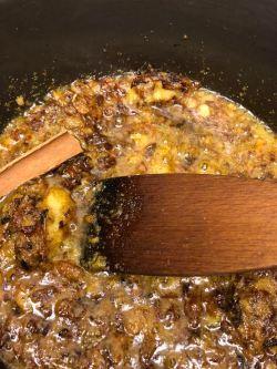 Cinnamon Stick added to pot