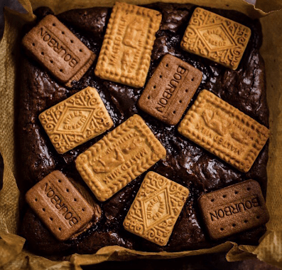 Martha Collisions Biscuit Brownies Pic