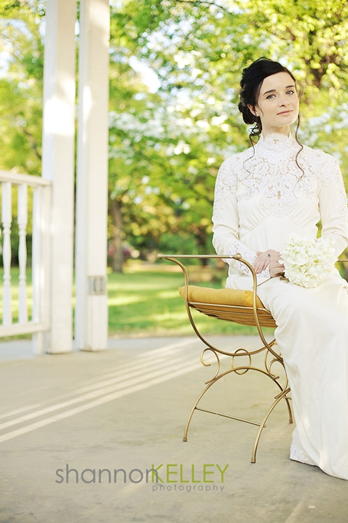 Bridal Portait by Shannon Kelley