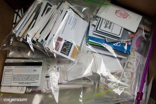 Box of Business Cards