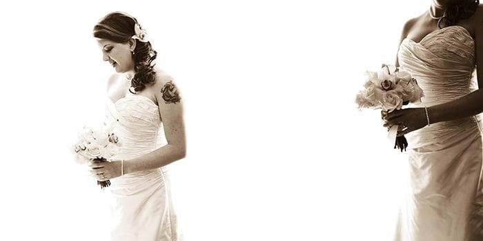 Designing Wedding Albums - Plumeria Album Design