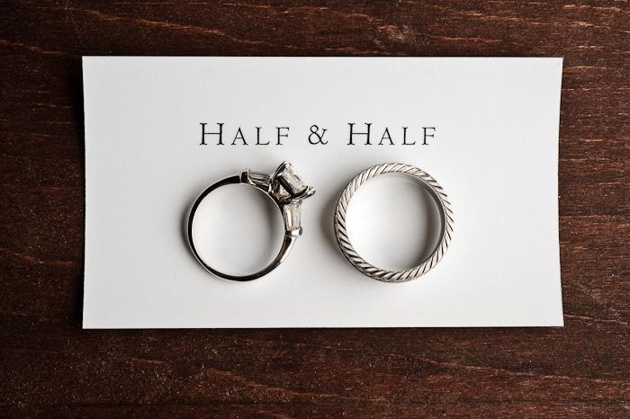 Doug Levy Wedding Ring Shots | Half & Half
