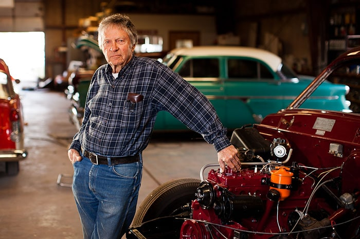 Man With Classic Cars |  Jerod Foster