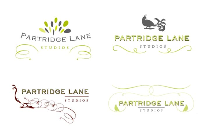Partridge Lane Logos Grouped