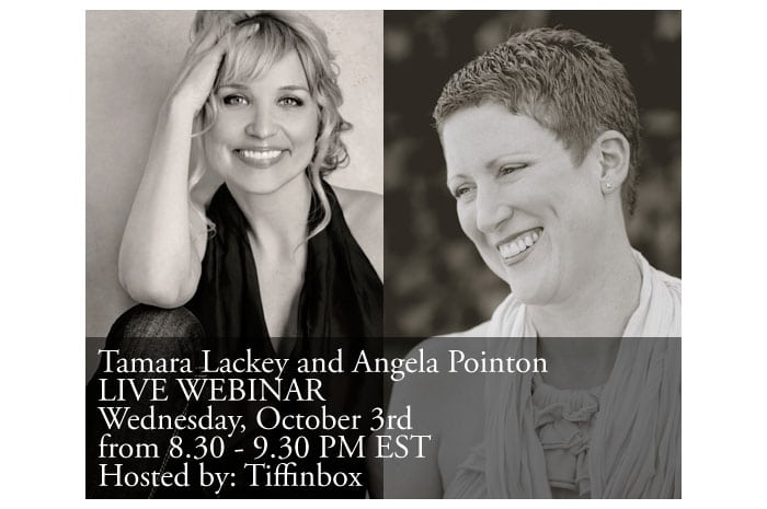Webinar Announcement with Tamara Lackey and Angela Pointon