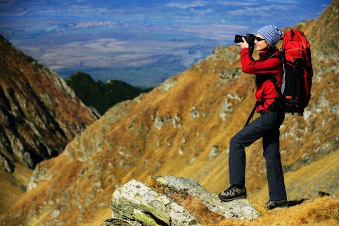 Photographer On A Mountain by Luke Clum