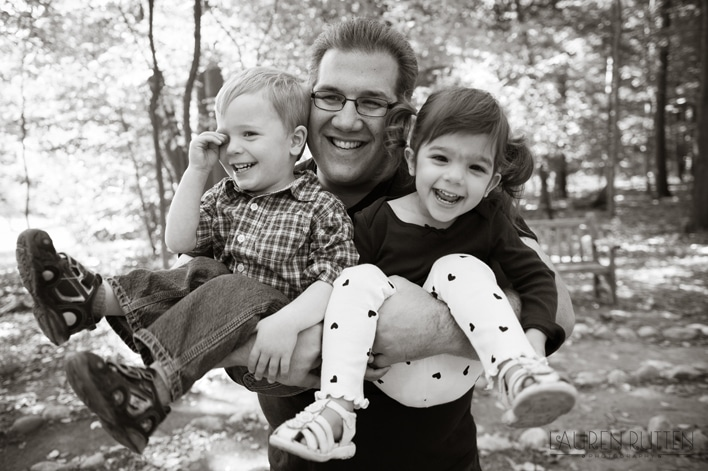 Lauren Rutten Photography - Father & Kids