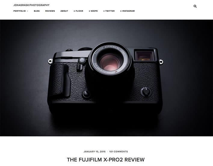 Jonas Rask - Fujifilm X-Pro 2 Review