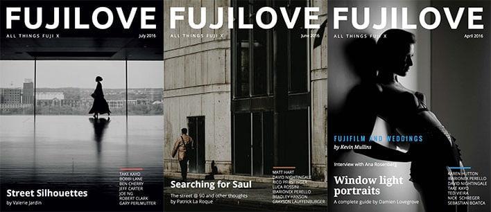 FujiLove Magazine Covers