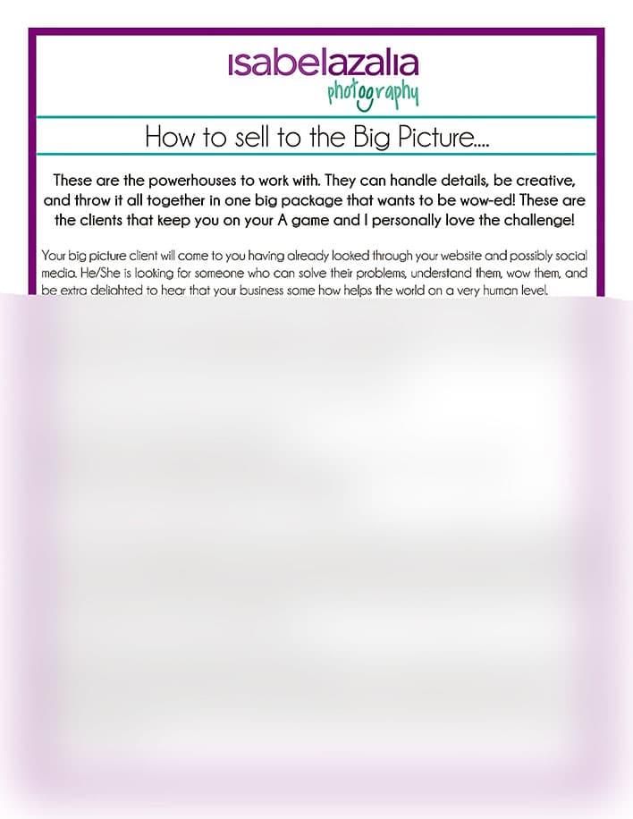 Client Quizzes: Big Picture Buyer
