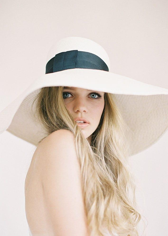 Jen Huang: Fine Art Wedding Photography, Bride Wearing A Hat