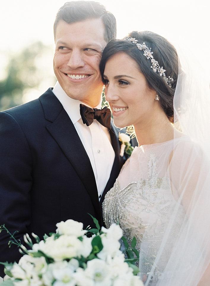 Jen Huang: Fine Art Wedding Photography, Bride and Groom Smiling