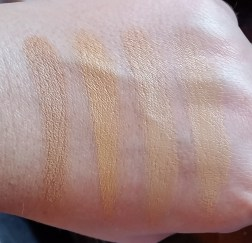 swatches with flash