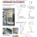 Vertical Sections Hardware and Accessories Cut Sheet