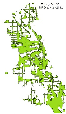 Chicago_TIFs-Green_Map-small