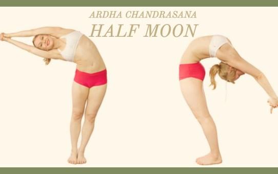 Ardha Chandrāsana: The Half Moon - Part 2.