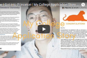 The College Essay to get into Princeton