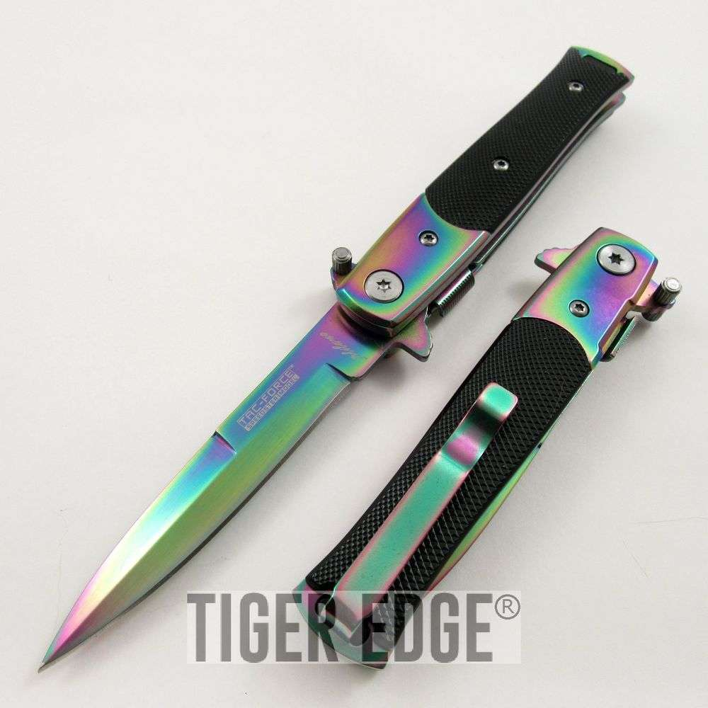 Curved Serrated Combat Knife