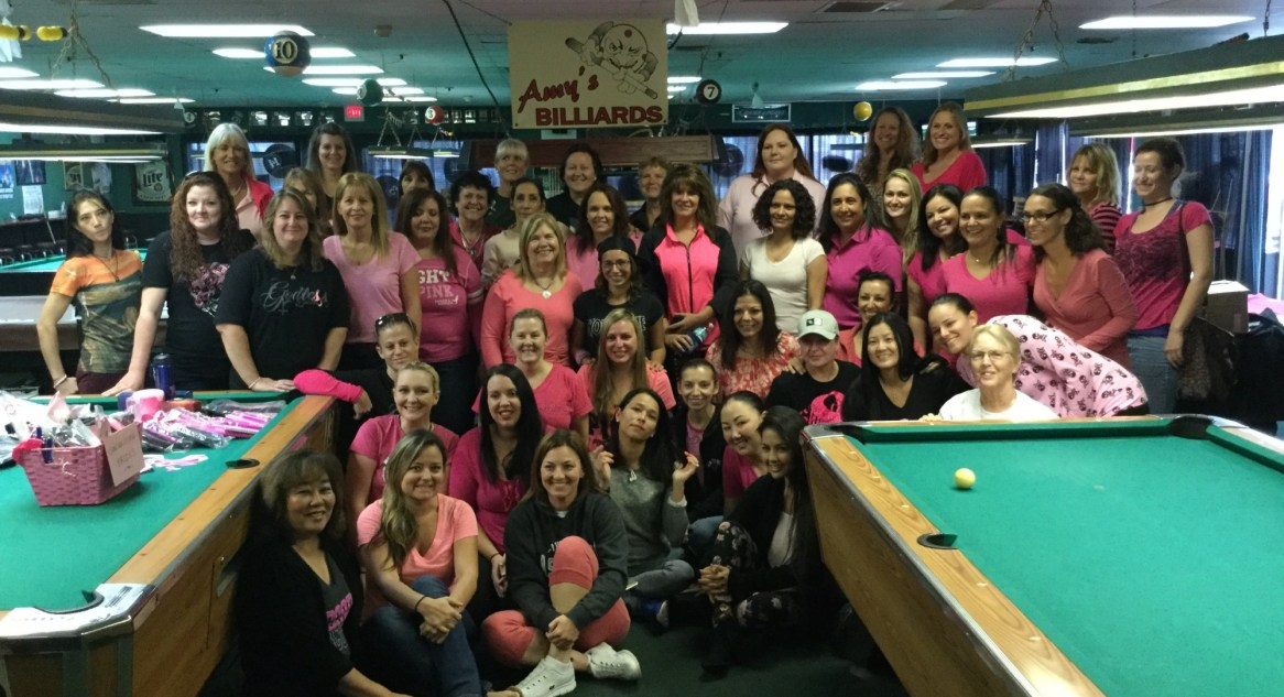 """7th Annual """"Cues for the Cure!"""""""