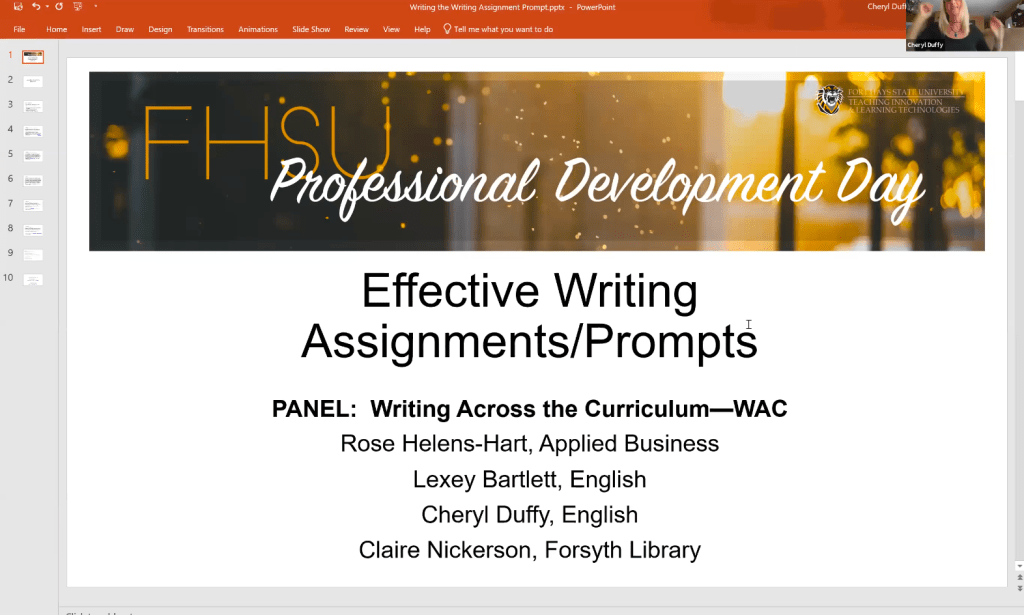 Effective Writing Assignments & Prompts