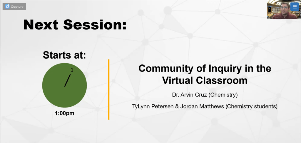 Packback: Community of Inquiry in the Virtual Classroom
