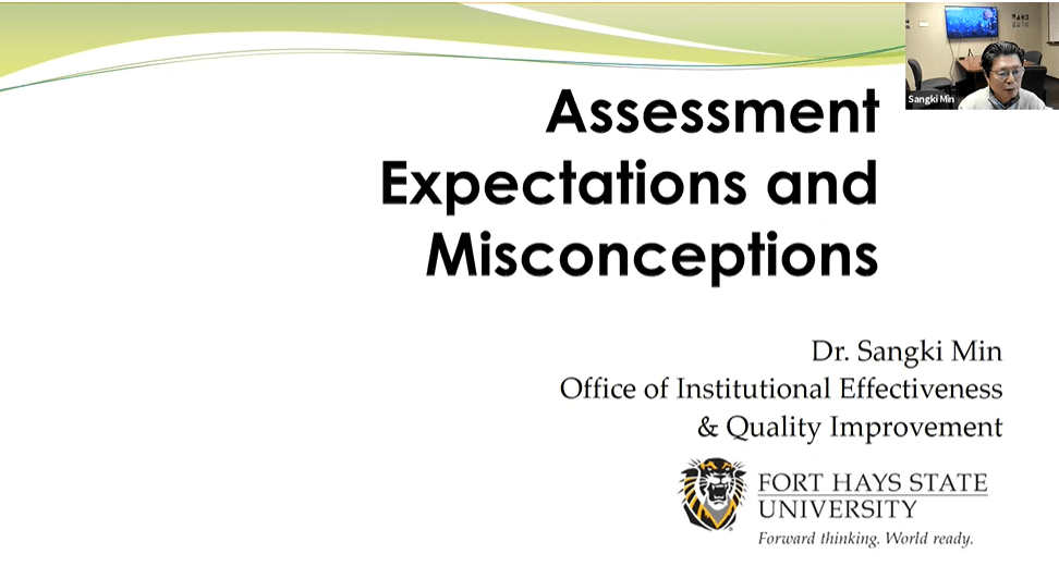 Assessment Expectations & Misconceptions