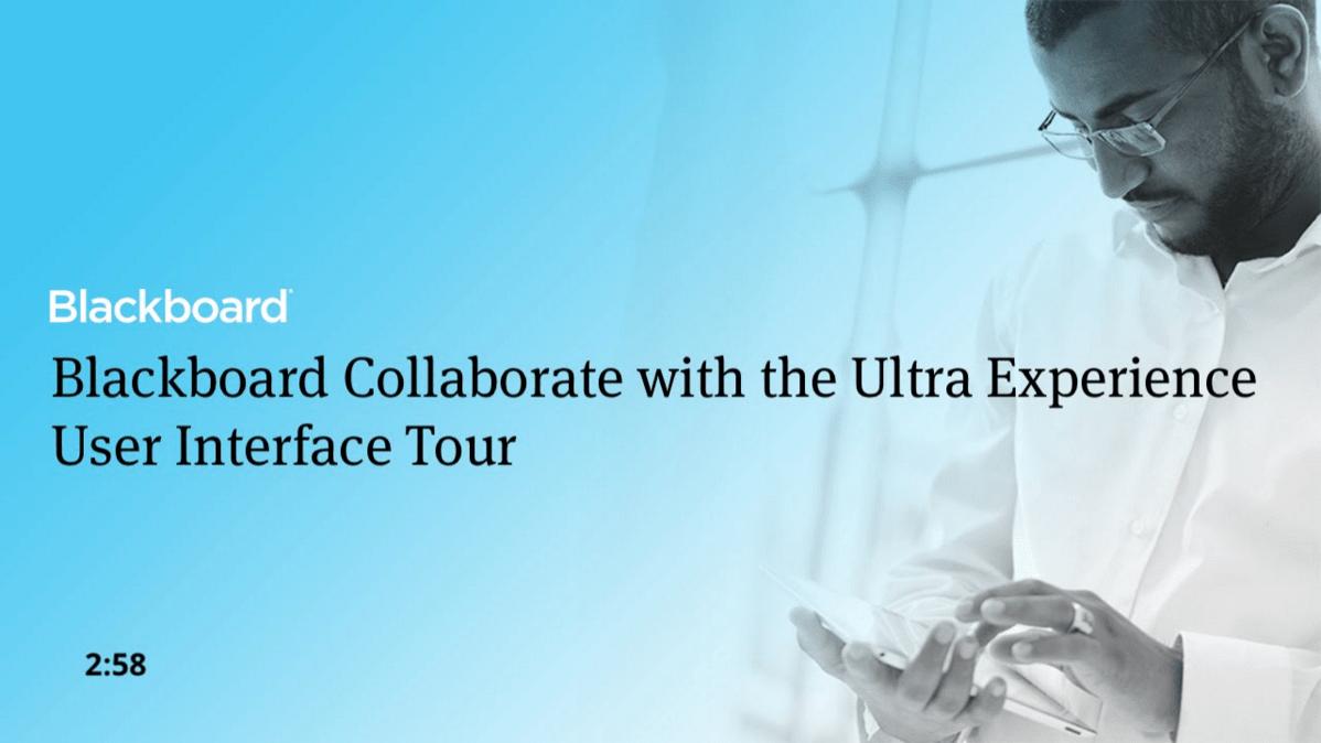 Blackboard Collaborate Ultra