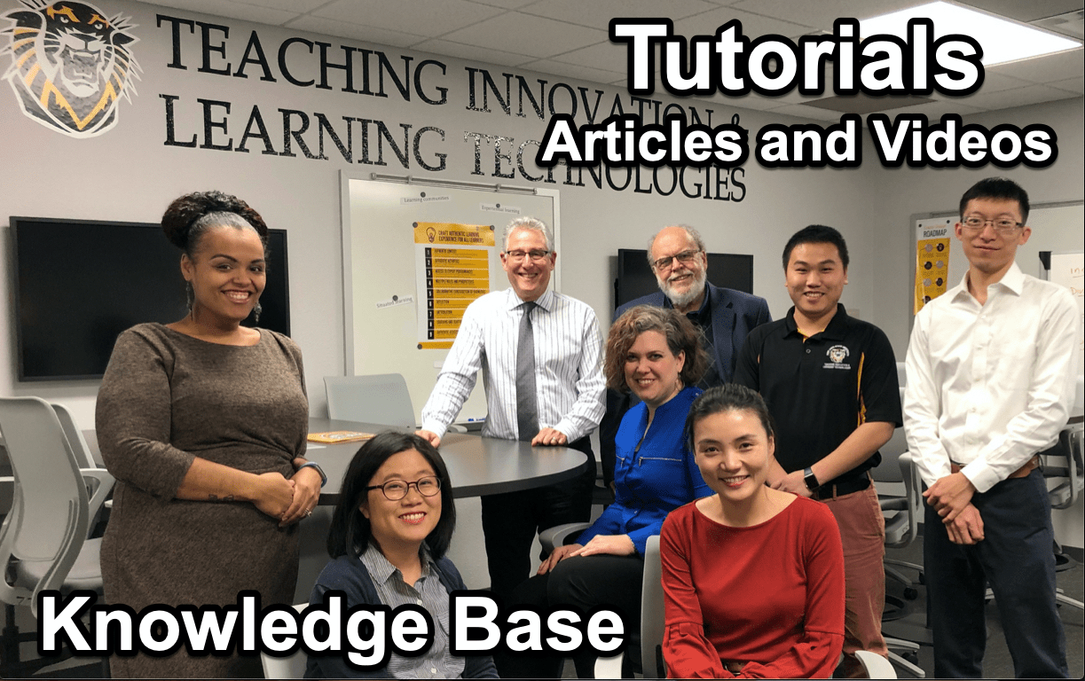 Tigerlearn Knowledge Base