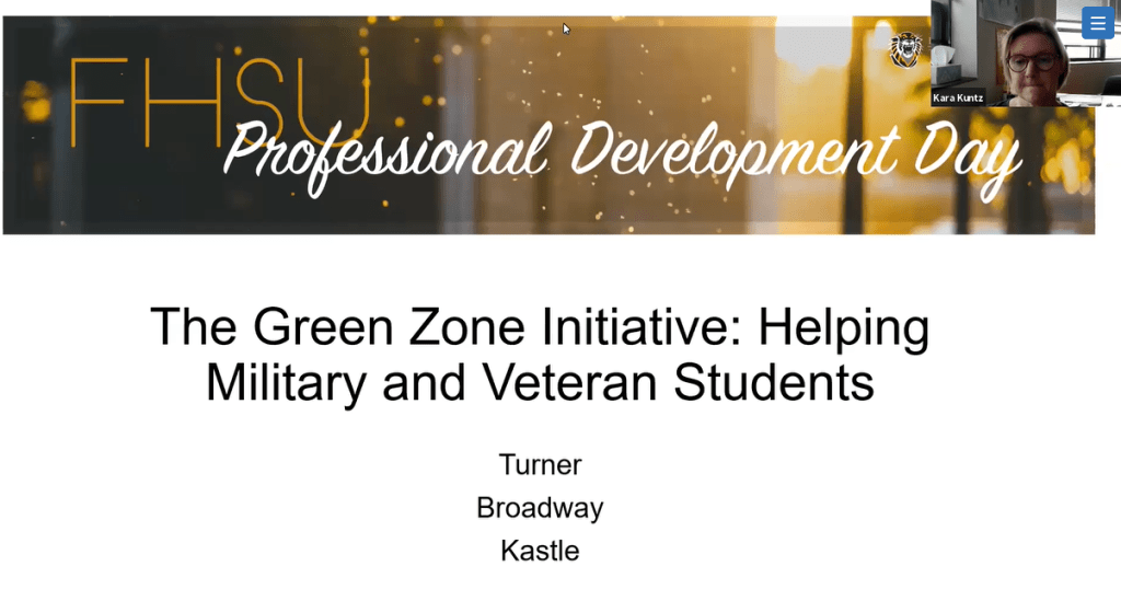 The Green Zone Initiative: Helping Military and Veteran Students