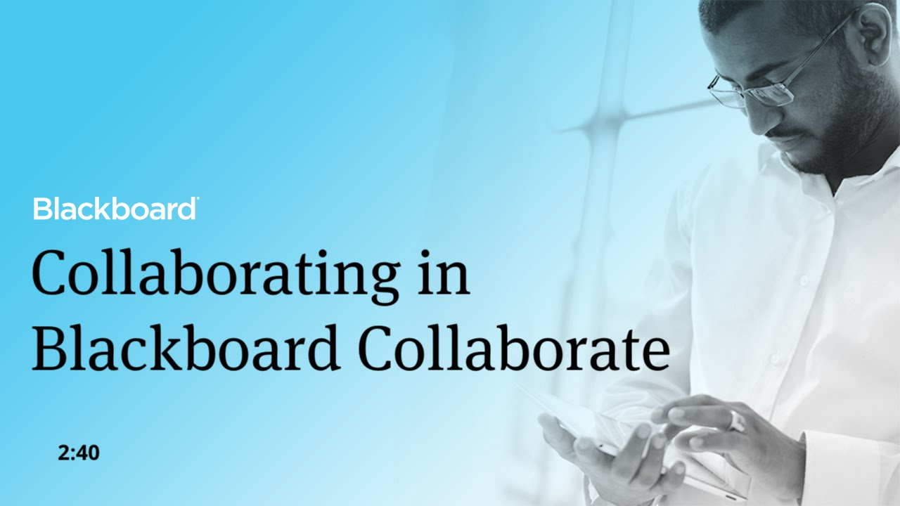 Blackboard Collaborate with the Ultra experience
