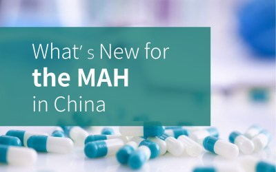 What's New for the MAH in China?