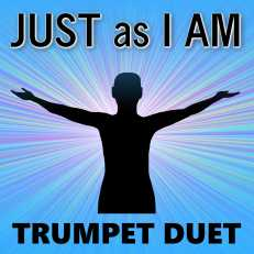Just as I Am Trumpet Hymn Duet Sheet Music PDF