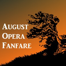 August Opera Fanfare Trumpet Octet Sheet Music PDF