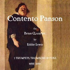 Contento Panson Brass Quartet Sheet Music PDF