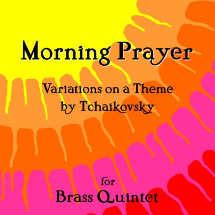 Tchaikovsky Morning Prayer brass quintet sheet music pdf