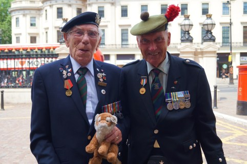 Met these two lovely gentlemen outside Charing Criss Hotel