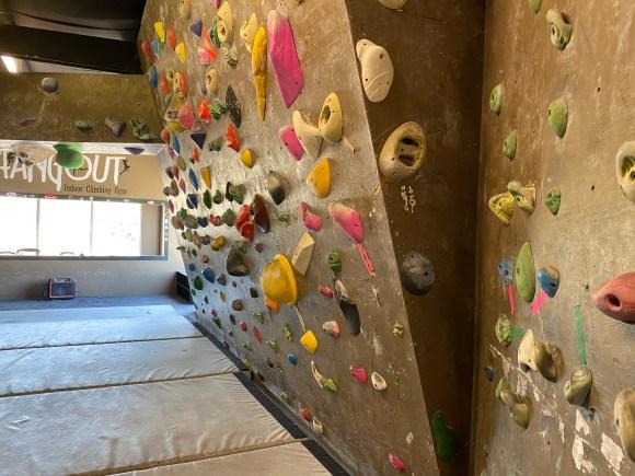 Climbing Wall 2