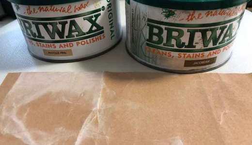 【DIY】ブライワックスを2×材(ツーバイ材)に塗る【BRIWAX】