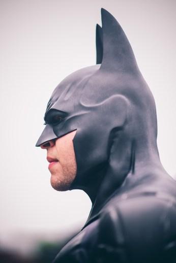 Big Hero Vince with Tiger Stone FX Batman Arkham Asylum : City cowl / mask